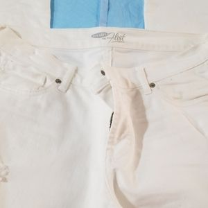 Old Navy 12 Tall white jeans